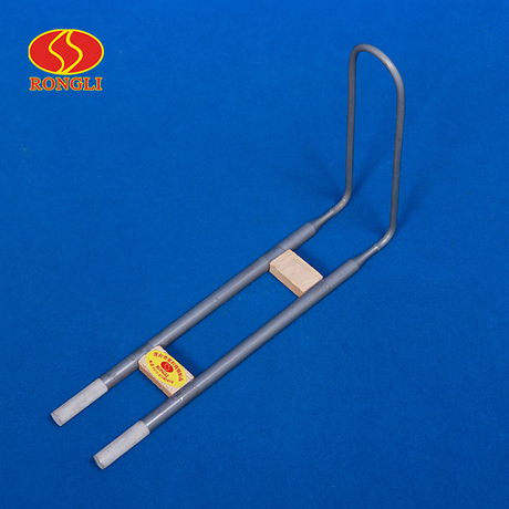U-type right-angle MoSi2 heating element